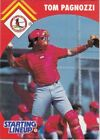 1995 Kenner Starting Lineup Extended Cards #4 Tom Pagnozzi Cardinals