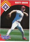 1995 Kenner Starting Lineup Extended Cards #2 Rusty Greer Rangers