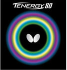 Butterfly Tenergy 80 21mm Red Table Tennis Ping Pong Rubber