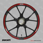 DUCATI MONSTER wheel decals tape stickers 696 796 1200 Reflective 17 rim stripes