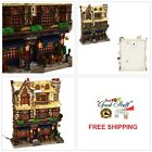 Lemax Village Collection Wesley Pub Lighted Facade Christmas Tabletop Decor Gift