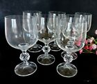 Lot of 7 Vintage  Bohemia Art Deco  Brandy wine glasses/ stemware