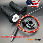 Handle Grips Throttle Cable For Honda XR50 CRF Dirt Pit Bike SSR 110cc 125cc