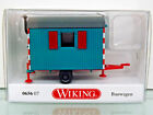 Wiking 065607 - H0 1:87 - Construction Wagon - Water Blue - New Original