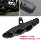 Exhaust Muffler Pipe Three-outlet Tail Pipe For Motorcycle Dirt Bike Scooter ATV