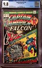 CGC 9.8 NM M Captain America 178 Solo Falcon Story (Avengers Iron Man Thor)