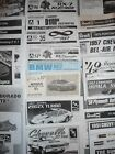 1/24 1/25 lot 95pcs instruction sheets manuals for plastic car model kits *RARE*