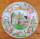 Calvin Coolidge Plymouth VT Home Souvenir Plate Staffordshire JonRoth England