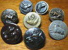Antique Lot of 8~Sporting Hunting