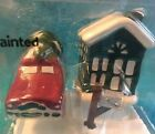Better Homes and Gardens Woodie Car  House Salt  Pepper Shakers