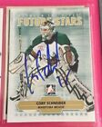 CORY SCHNEIDER - SIGNED - 2009 10 ITG Between The Pipes #8 Card! Autographed