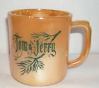 JERRY PEACH LUSTRE WARE CUP