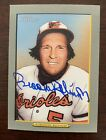 Brooks Robinson Auto Signed 2005 Topps Turkey Red Baltimore Orioles