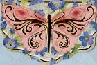 Embellished Butterfly Blank Note Card With Full Color Envelope