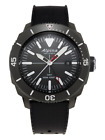 Alpina Seastrong Men's AL-247LGG4TV6 Quartz GMT Black Rubber Strap 44mm Watch