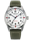 Alpina Men's Startimer Pilot AL-240S4S6 Quartz Green Nylon Strap 42mm Watch