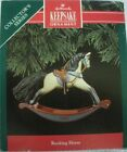 Hallmark 1991 Ornament - Rocking Horse - 11th in Series - Pre-Owned