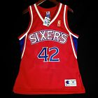 100% Authentic Jerry Stackhouse Vintage Champion Sixers NBA @50th Jersey Size 40