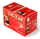 Cigarette Rolling Paper ZIG ZAG Red CUT CORNERS 60 x 100  6000 papers