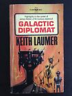 KEITH LAUMER GALACTIC DIPLOMAT FIRST EDITION RICHARD POWERS ART SCI FI PULP