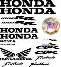 HONDA CBR 1000RR 1000 RR 14pc Decal Set (die-cut) Many color options Fireblade