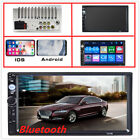 7inch 2din HD car radio MP5 player with digital touch screen.HD Rear view camera