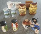 Lot of 6 sets of Vintage Kentucky Salt and Pepper Shakers C Pics For Locations