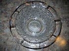 Squares Glass Bowl with Scalloped Edges