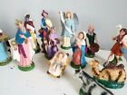 12 pc Vintage 1950s FONTANINI Italy Paper Mache NATIVITY FIGURE Set 8