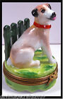 Limoges Jack Russell Dog No19 Authentic Limoges Box Made in France