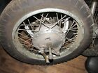 1977 kawasaki kz650 b rear wheel rim hub