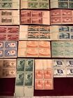 19 US 3 Cent Plate Blocks All Different OG Look at Scans 3 Premium blocks