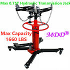 Max 1660lbs 075Ton Transmission Jack 2 Stage Hydraulic w 360 for car auto lift