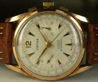 Vintage Orfina Chronograph Landeron 248 35mm 17J Gold Filled Swiss Watch