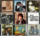 BOB DYLAN Desire Time Out Of Mind Hard Rain Pat Garrett Blonde On Mercy LOT CD