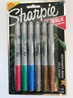 New Sharpie Fine Tip Metallic Colors Great For Dark Surfaces Permanent Marker