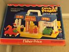 Vintage Fisher Price Little People Little Mart Playset with Box 2580