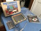 Radio Shack Computer Trs-80 Graphic Drawing Vtg Machine Box Tablet X-pad Gt-116