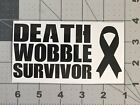 Funny Jeep 4x4 Death Wobble 4wheel Car Decal Vinyl Window Sticker free shipping