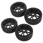 4pcs Wheel Rim Tires Tyre Replace for RC 1:8 Off-Road Vehicle Car Thunder Tiger