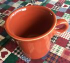 HLC Fiesta Mug Tom &  Jerry Ring Handle RETIRED! PERSIMMON. Excellent!