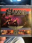 SAXON :GREATEST HITS LIVE 10 YEARS WORTH 16-SONGS V-RARE