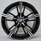 18 inch Black Machined Rims fits BMW 325is 1992 1995 set4 wheels