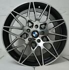 1 Wheel 18 inch Black Machined Rim Fits BMW Z8 Base 2000 2003