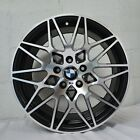 4 Wheels 18 inch Satin Black Machined Rims fits BMW 328is 1996 1998