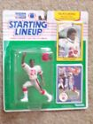 Deon Sanders 1990 Starting Lineup Action Figure and Cards, Including Rookie
