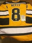 Cam Neeley Signed Auto Hand Signed Boston Bruins Jersey (JSA)
