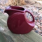 Fiestaware Pitcher - Claret - Excellent Preowned Condition