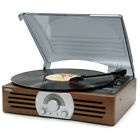 Vintage Vinyl Record Player Turntable 3 Speed 33 45 78 Rpm Speakers Portable