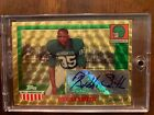 2005 Topps All American Superfractor Bubba Smith Auto 1 1 One Of One Michigan St